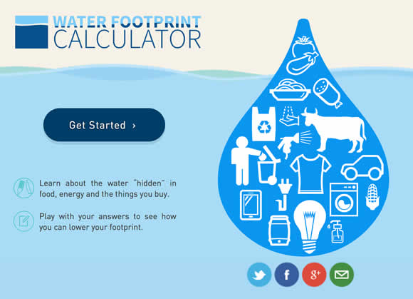 water footprint Find out everything you need to know about the water footprint concept, whether you are a student, scholar or professional over the years, our partners have developed a host of educational materials which we make freely available on our website for.