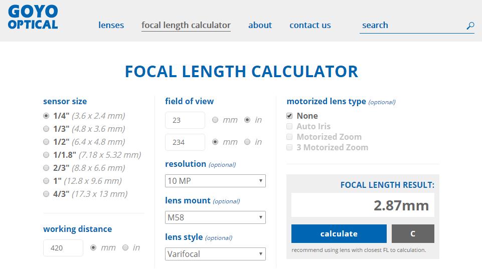 focal-length-calculator